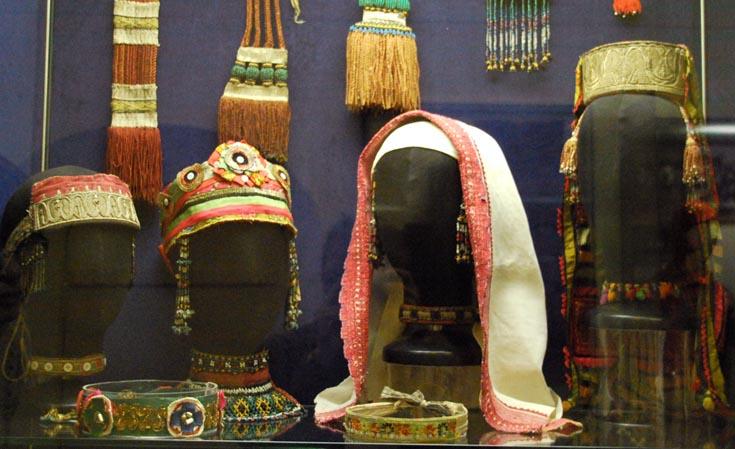 Головные уборы из Рязанского музея