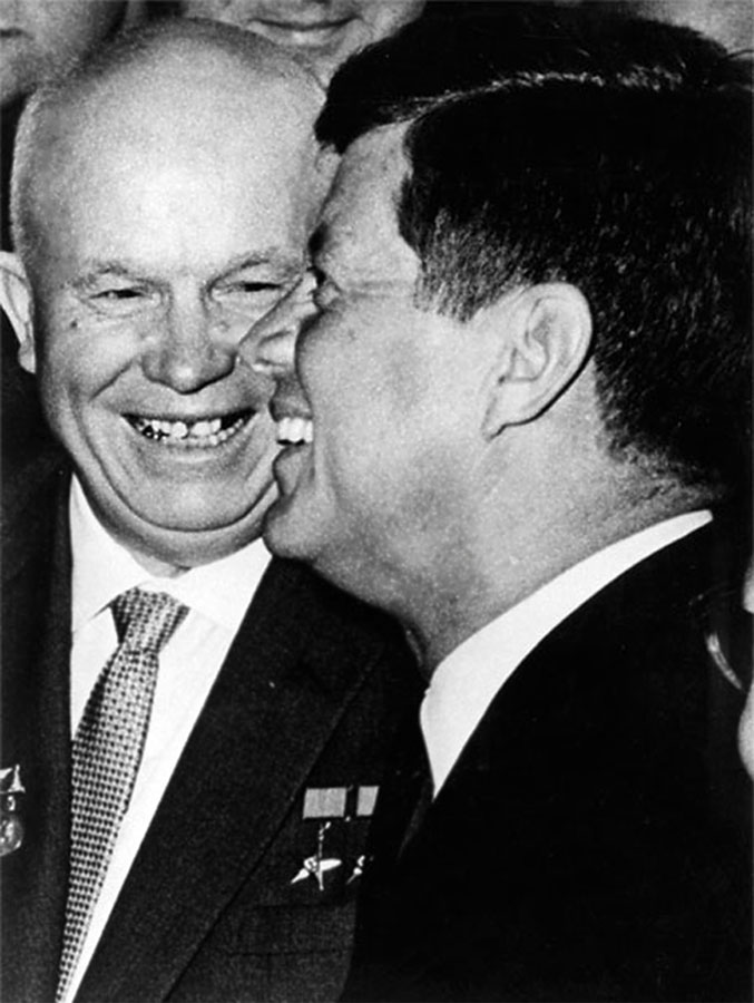 Khrushev-JFK, Вена, 1961 год, 4 июня