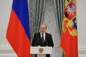 Владимир Путин вручил награды двум гражданам Молдовы