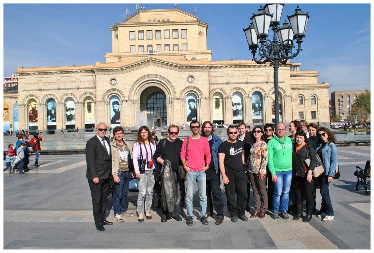 Волгоградский молодёжный театр вернулся из Армении