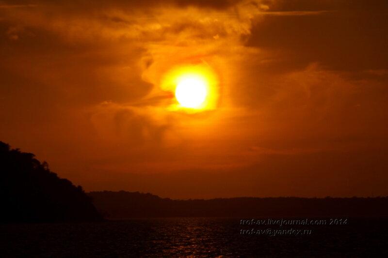 Закат. Светлогорск-Rauschen