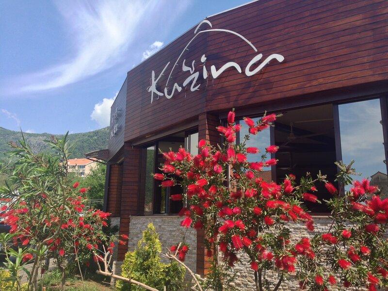 дешевые рестораны в Будве-  Кужина, Парма, Кангару