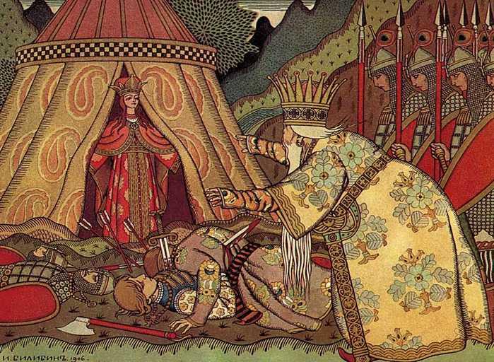 Чем отличаются картины Васнецова и Билибина