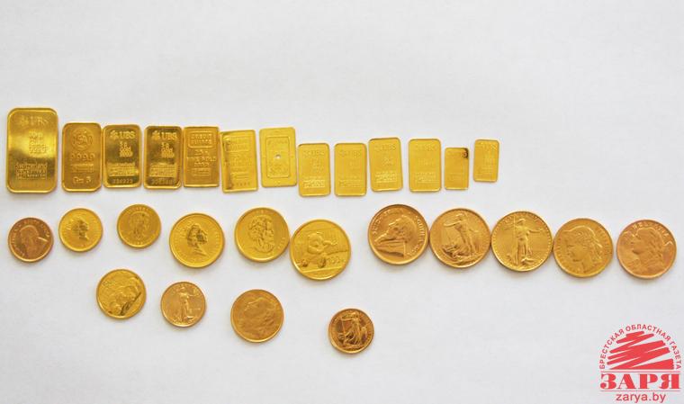 Монеты и мерные слитки изъяли на границе у пинчанина
