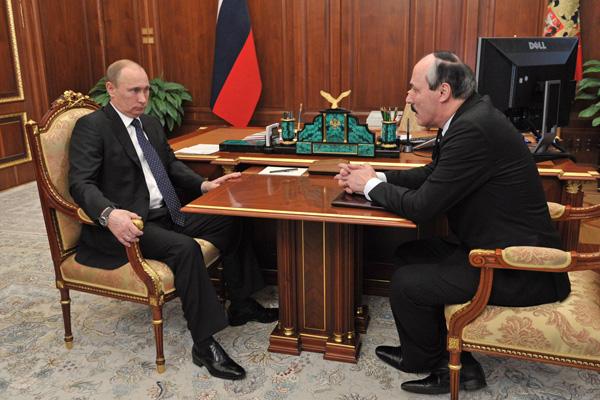 Руководитель Дагестана поведал Путину оположении дел вреспублике