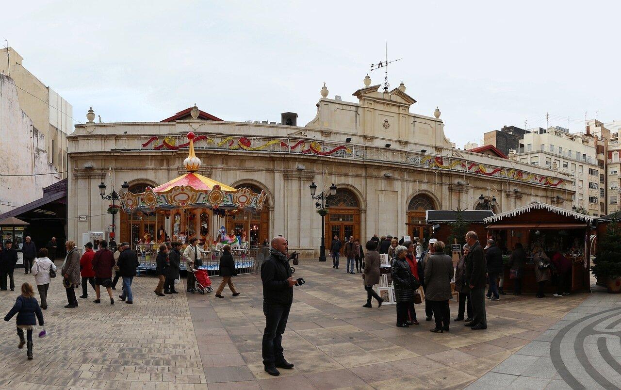 Кастельон-де-ла-Плана.   Центральный рынок.  Castellón de la Plana. Mercado Central