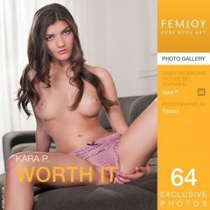 Журнал Журнал FemJoy: Kara P - Worth It (10-04-2014)
