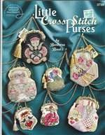 Книга little crossstitch purses