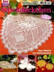 Журнал Lea special handarbeiten LH 185 2005 Strickdeckchen