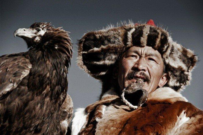 Казах. Монголия. Автор фото Джимми Нельсон (Jimmy Nelson).