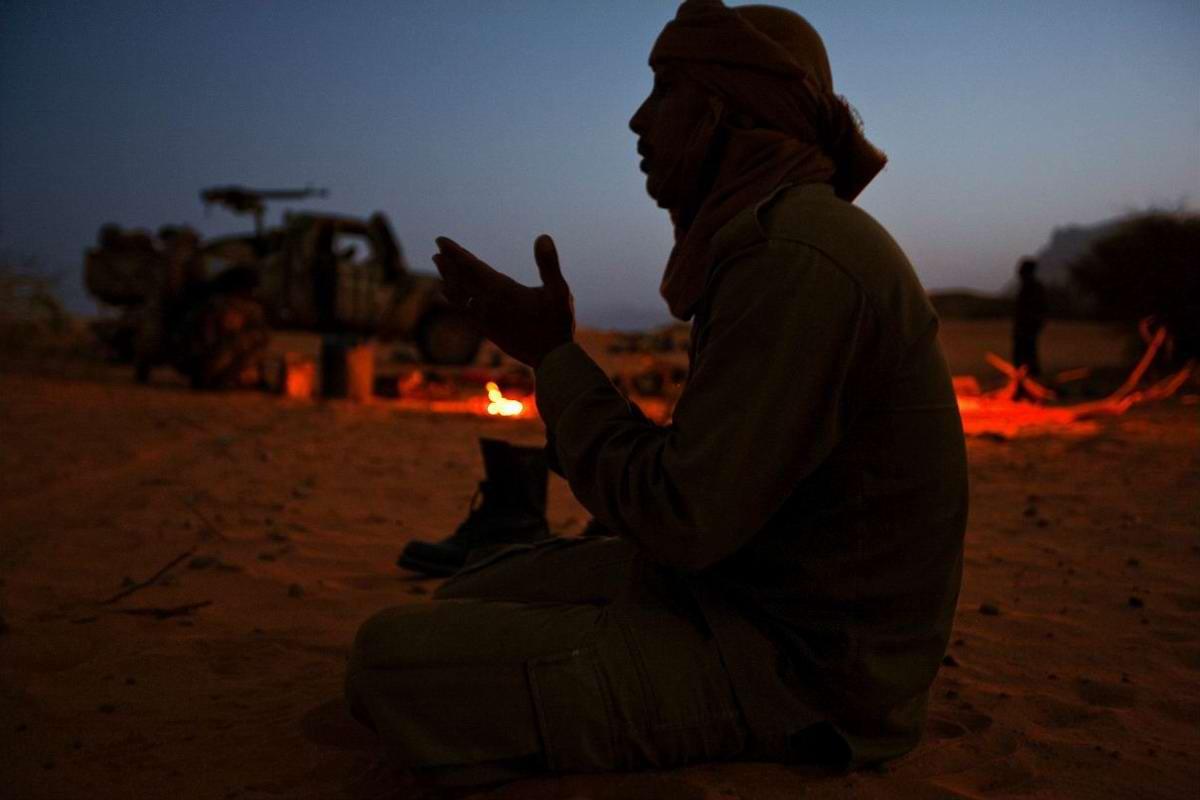 Воинственные североафриканские туареги на снимках фотографа из ЮАР Brent Stirton (20)