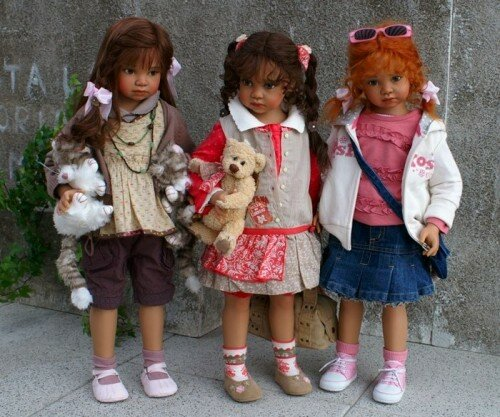 Автор куклы Анжела Суттер (Angela Sutter)