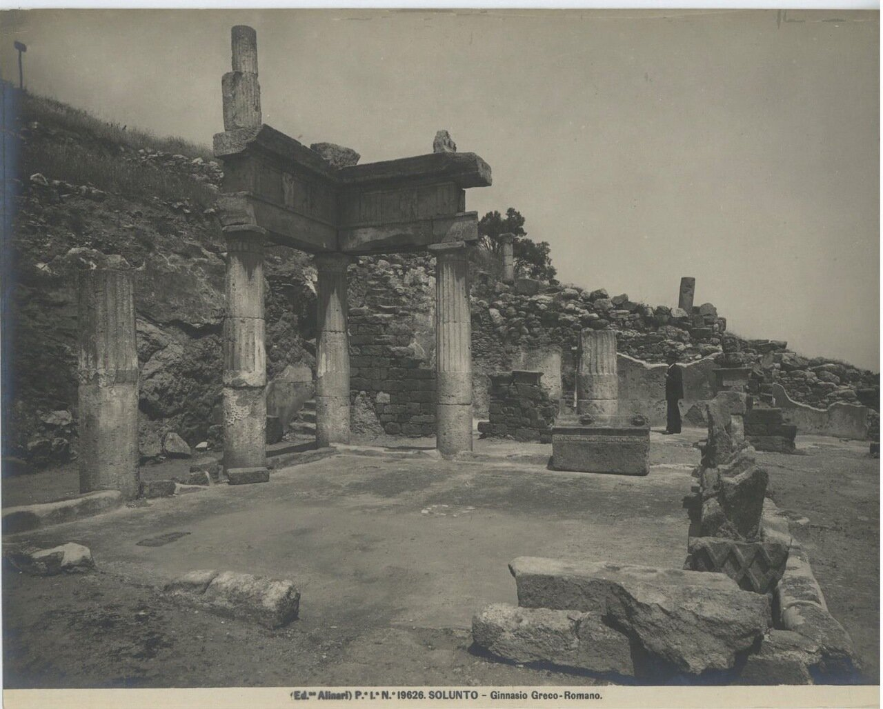 Солунт. Греко-римская гимназия.
