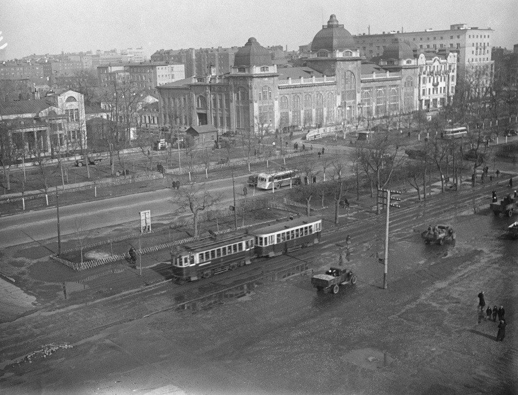 1937. Ленинградский проспект. Бывший ресторан «Яр»