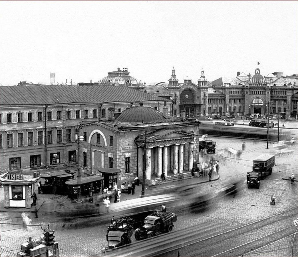 1930-е. Тверская застава