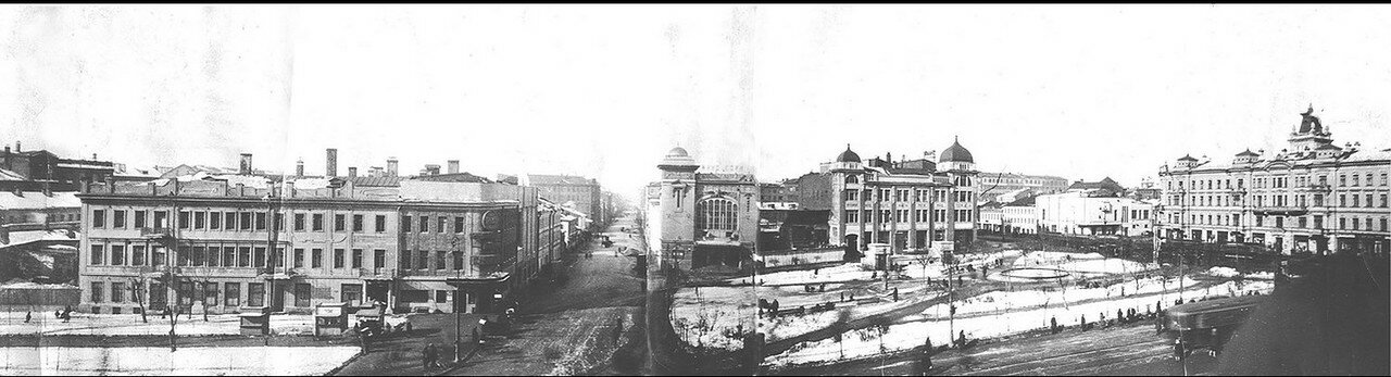 1935. Триумфальная площадь