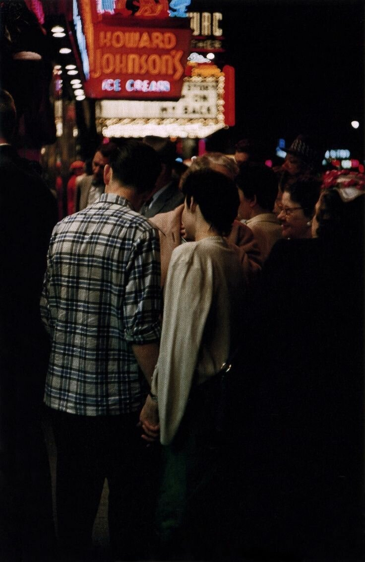 1957. Молодая пара в Нью-Йорке