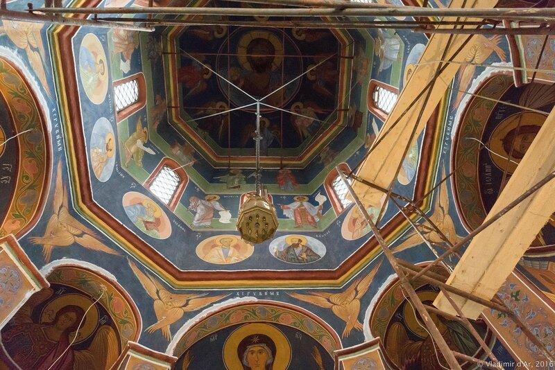 Фрески собора святителя Петра, митрополита Московского