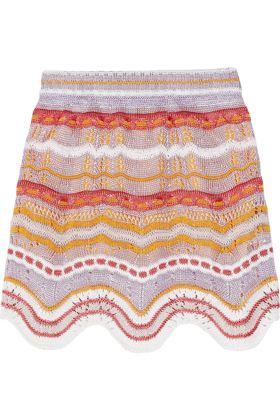Сочетание цветов для вязания миссони