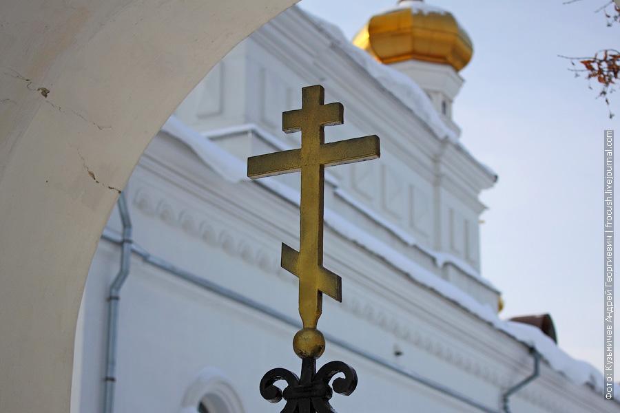 Егорьевск. Храм во имя святого великомученика Георгия Победоносца (Русская Православная старообрядческая Церковь)