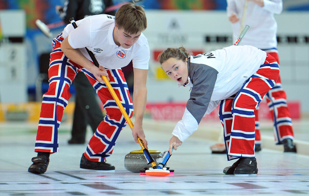 Austria Youth Olympics Curling