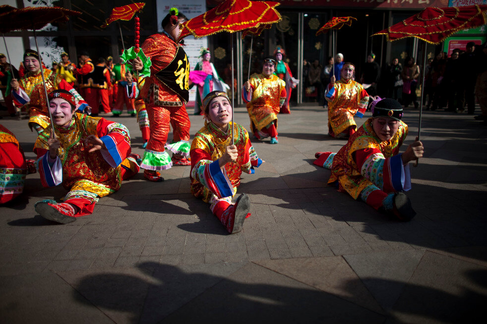 APTOPIX China Lantern Festival