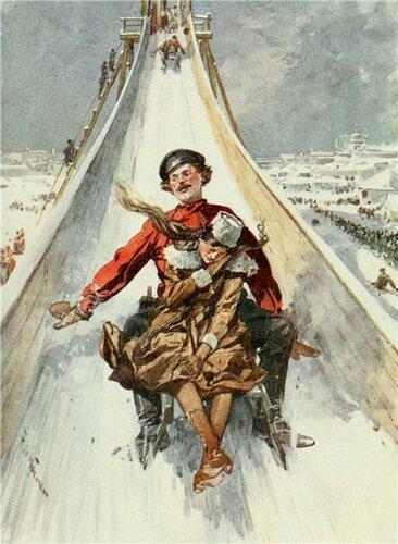 Фредерик де Ханен. Катания с гор. 1912.