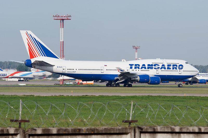 Boeing 747-446 (EI-XLC) Трансаэро DSC2644a