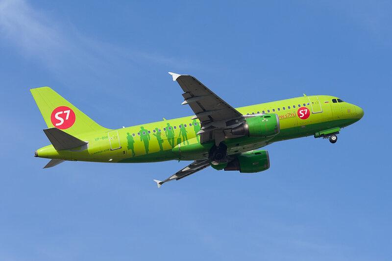 Airbus A319-114 (VP-BHI) S7 DSC2698