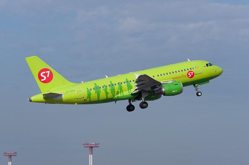 Airbus A319-114 (VP-BHP) S7 DSC2668