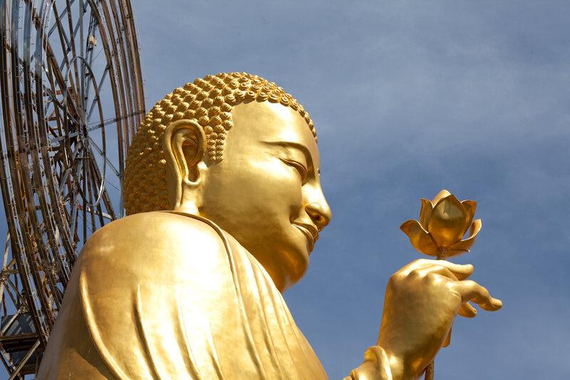 Сидящий Будда-3