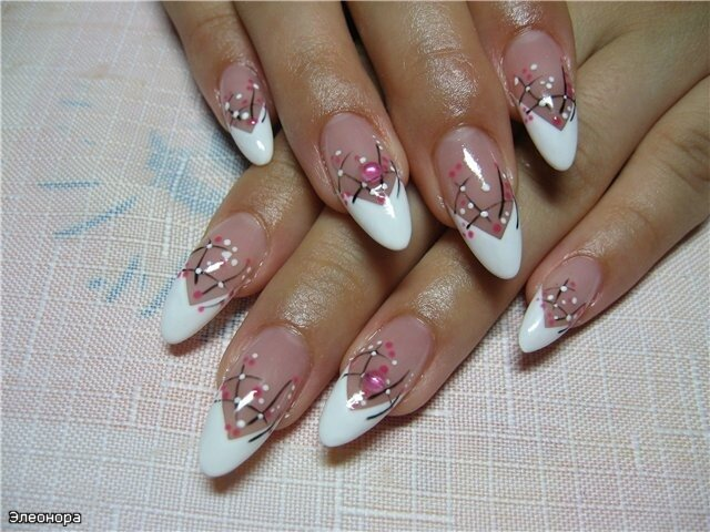 Шикарный дизайн ногтей