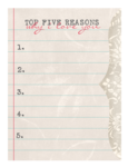 LaurieAnnHGD_EspeciallyForYou_TopFiveReasons.png