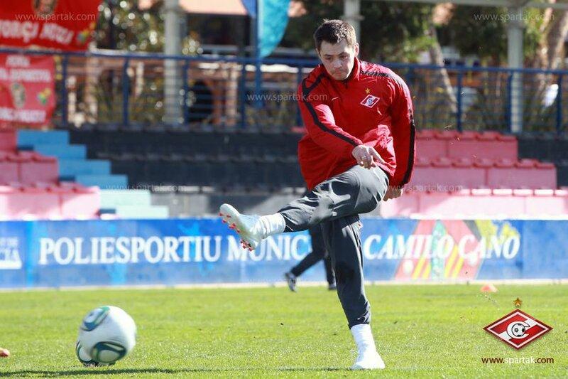 Первая тренировка Билялетдинова в «Спартаке» (Фото)
