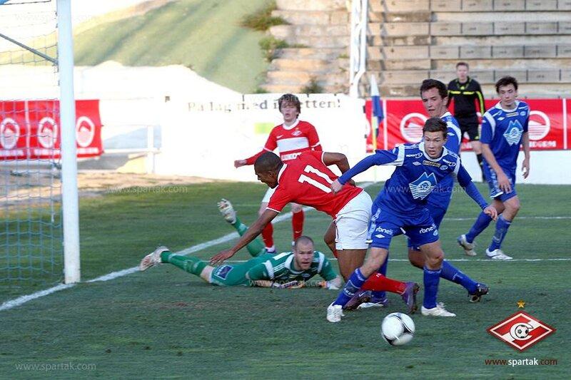 «Спартак» vs «Мольде» 3:0 Copa del Sol 2012 (Фото)