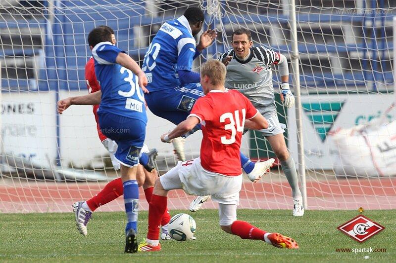 «Спартак» vs «Мольде» 0:3 контрольный матч 2012 (Фото)