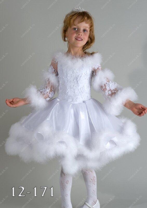 Платье зимы своими руками