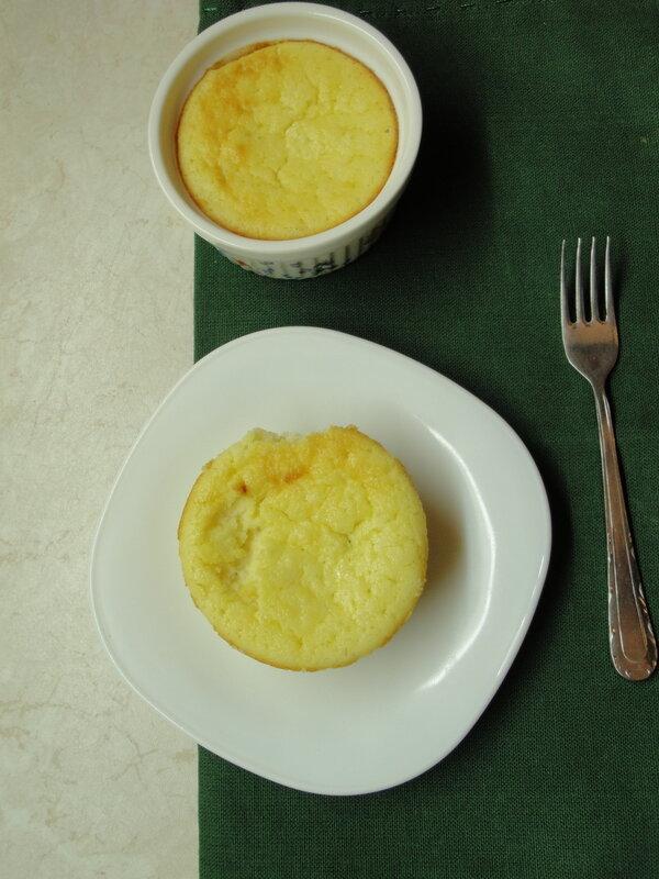 Порционный лимонный чизкейк