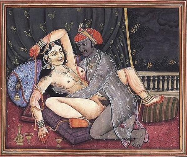 Самый Эротическое искусство Индии, несколько из иллюстраций Камасутры.