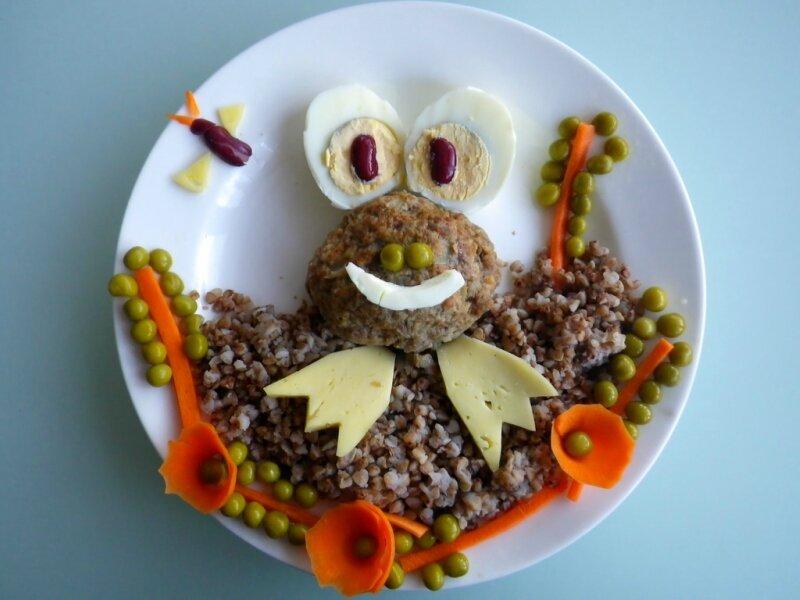 Украшение детских блюд. Еда для Нехочухи!