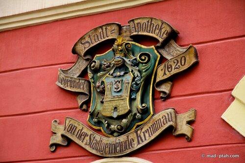 чески-крумлов, герб, роза