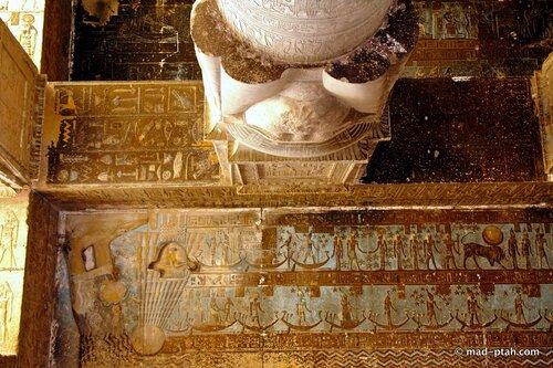 храм богини хатхор, дендеры