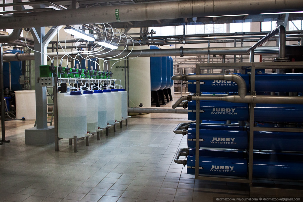 Как делают бутилированную воду