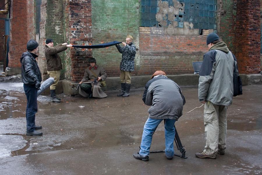 реконструкция боев за Ростов