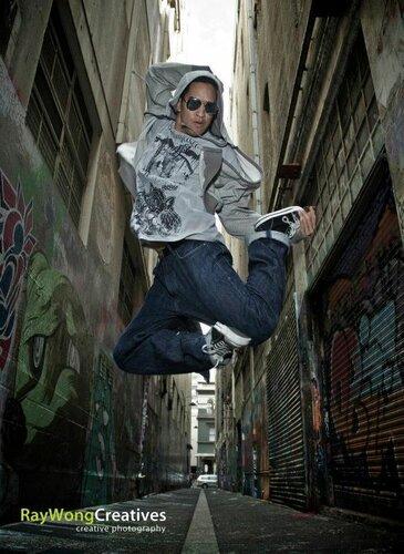 Уличные танцы - световая схема
