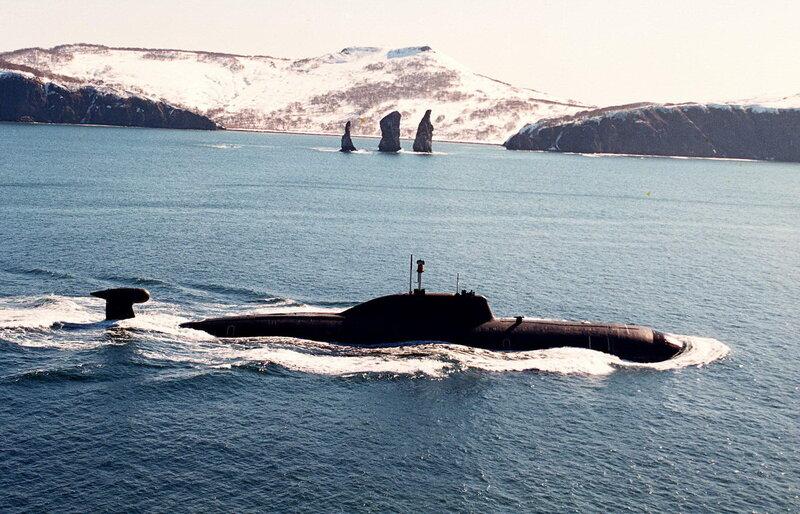 """Военно-морской флот России решил вернуть в строй уникальные подводные лодки проекта 945  """"Барракуда """"..."""