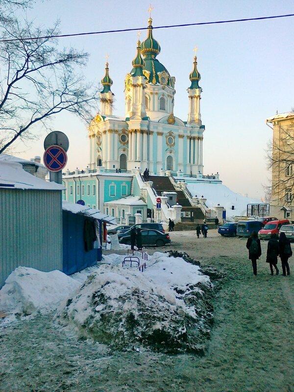 Андреевская церковь после ремонта