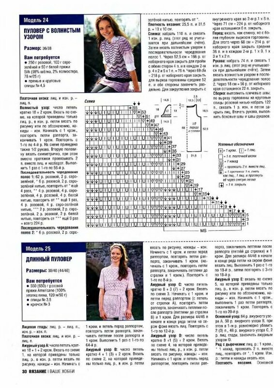 Sabrina 03-2009-N3 на немецком языке.  Зигзаги в стиле Миссони. nbsp;strongspan style=img alt.