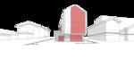 мужественный дом, Жилой дачный дом коттедж, безимпостное остекление, Интерьер, Камин в арке