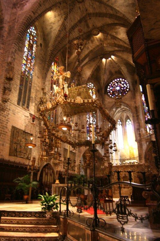 Пальма де Майорка. В Кафедральном Соборе